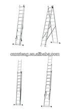 Aluminium extendable ladder,fire escape rope ladder