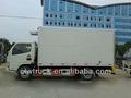 Dongfeng 3-5 toneladas caminhão refrigerado, 4x2 caminhão frigorífico congelador