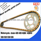 hot sale 420 motorcycle roller chain,chain sprocket zongshen motorcycle parts,transmission kit parts of motorcycles