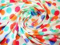 Puntos de color de impresión 100% de algodón 40x40 120x60 57/58'' tela para los niños