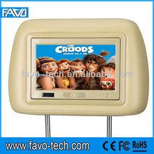 7 Inch digital(800*480) taxi headrest lcd ad player