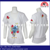 hot selling 2013 bamboo fiber plain t-shirts for lady