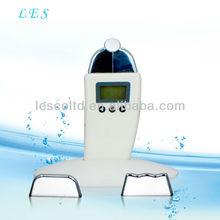 home use mini micro current bio skin lifting with 3 optional heads LCD display design
