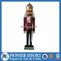 soldado de madera nutcrack cascanueces de madera para las decoraciones de navidad