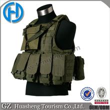 Quick Release Steel Wire Military Vest Tactical Assault Combat Vest