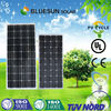 Bluesun Top hot sale high quality 100w 24v solar panel
