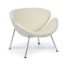 modern fashion fiberglass orange slice chair by pierre paulin for home/Dinning room for sale