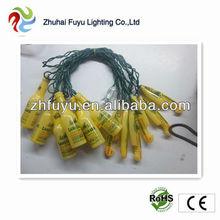 Festive led string light with bottle