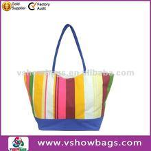 Fashionable pattern canvas damask beach bags 2012