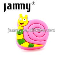 Snail shape plastic filing cabinet handle for kids furniture,animal cartoon shape drawer pulls and knobs