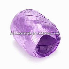 HOT SALE ! Lilac Crimped Poly Cake Decoration Ribbon, Car Decoration Ribbon, Bottle Ribbon Decorations
