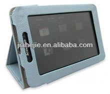 fancy 7 inch tablet leather case