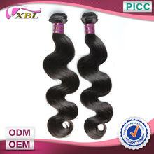 Cut From Young Girls Directly Dye and Iron Cheap Raw Brazilian Hair