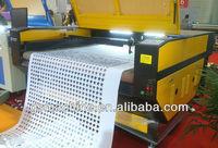 Goldensign Auto feeding textile Laser cutting machine--2 heads