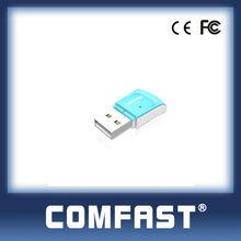 802.11g WLAN USB Adapter 2T2R 300M Wireless USB Network Card High power NANO Card COMFAST CF-WU825N