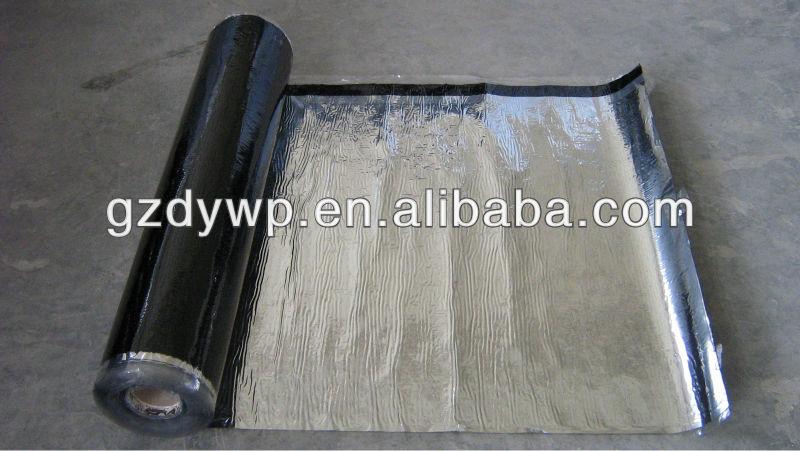 Aluminum film self adhesive waterproofing membrane
