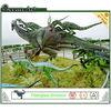 realistic huge fiberglass dinosaurs for playground epuipment