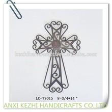 metal hanging church cross