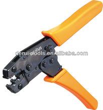 Save 50% energy ratchet crimping plier HS-0725 european style