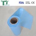 esterilização de papel crepom em forma de rolo
