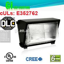2014 hot sell DLC UL CUL listed aluminum outdoor wall light