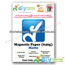 Magnificent Magnetic Paper 640g (Matte) (5 sheets/pkt)