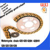 Motorcycle parts chain sprocket,parts for atv shineray,new product motorcycle chain drive