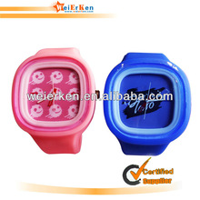 free sample and silicone jelly watch