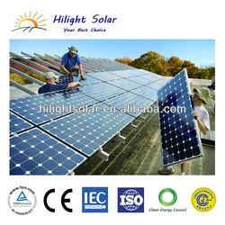 180W solar panel price, price per watt solar panel, competitive price 36V mono 180W solar panel with TUV, IEC, CE, ISO