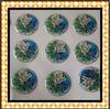 2013 High quality round crystal epoxy stickers