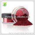 sechseck haustier glitterpulver rubin pantoffel