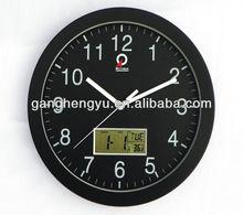 Digital wall clock , radio controlled analog and digital wall clock