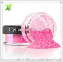 2013 Most fashion Electrified Pink Acrylic Glitter Powder