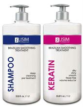 LISIM Keratin Treatment - Thick & Ethnic Hair - 33.8 oz./1000 ml.