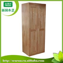 Best selling simple solid wood wardrobe