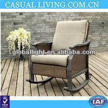 Cheap Aluminum Wicker Rocking Chair
