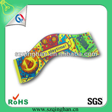 special beautiful custom colorful clothing pvc rubber patches