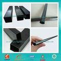 Black oleado móveis de tubos de aço& tubos/ferro fundido tubos de metal