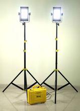 2pcs. PROAIM AURA - 2412 Power LED Light with Power Pack
