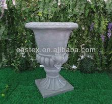 Antique fiberglass flower pot garden urn planter wholesale