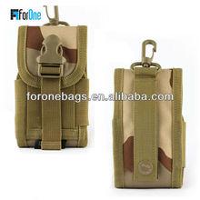Camo neck hanging phone bag/mobile phone bag/phone bag
