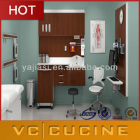 wholesale modern MDF wooden hospital furniture