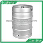 US standard stainless steel beer keg