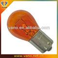 de alta potencia de luz intermitente de parada de la cola de la lámpara intermitente y el indicador de color naranja de halógeno la lámpara 21w 12v