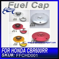Distribution welcomed For HONDA CBR600RR CBR1000RR Motorcycle Fuel Caps Alu 6061 T6 Anodized FFCHD001
