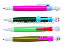 plastic novelty lover couple shaped pen
