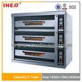 Automática de panadería comercial arábica eléctrico horno de pan/pequeña panadería horno/pan de panadería de la máquina