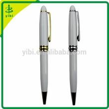 JDF-D18 hot-selling white metal ball point pen