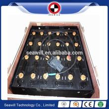 Traction battery 48v 690Ah/48v 6PZS690 forklift battery PZS type 198mm width