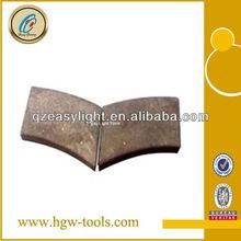 1600mm diamond cutting segment for stone cutting